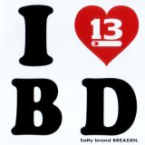 ブリーデン ステッカー:G. I love B D【DM便配送可】