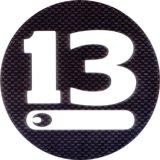 ブリーデン デカール:CIRCLE450 カーボン調■DM便対象外■