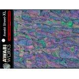 アワビワークス アワビシートXL:日本アワビA/ブラック【DM便配送可】