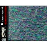 アワビワークス アワビシートXL:日本アワビB/ブラック【DM便配送可】